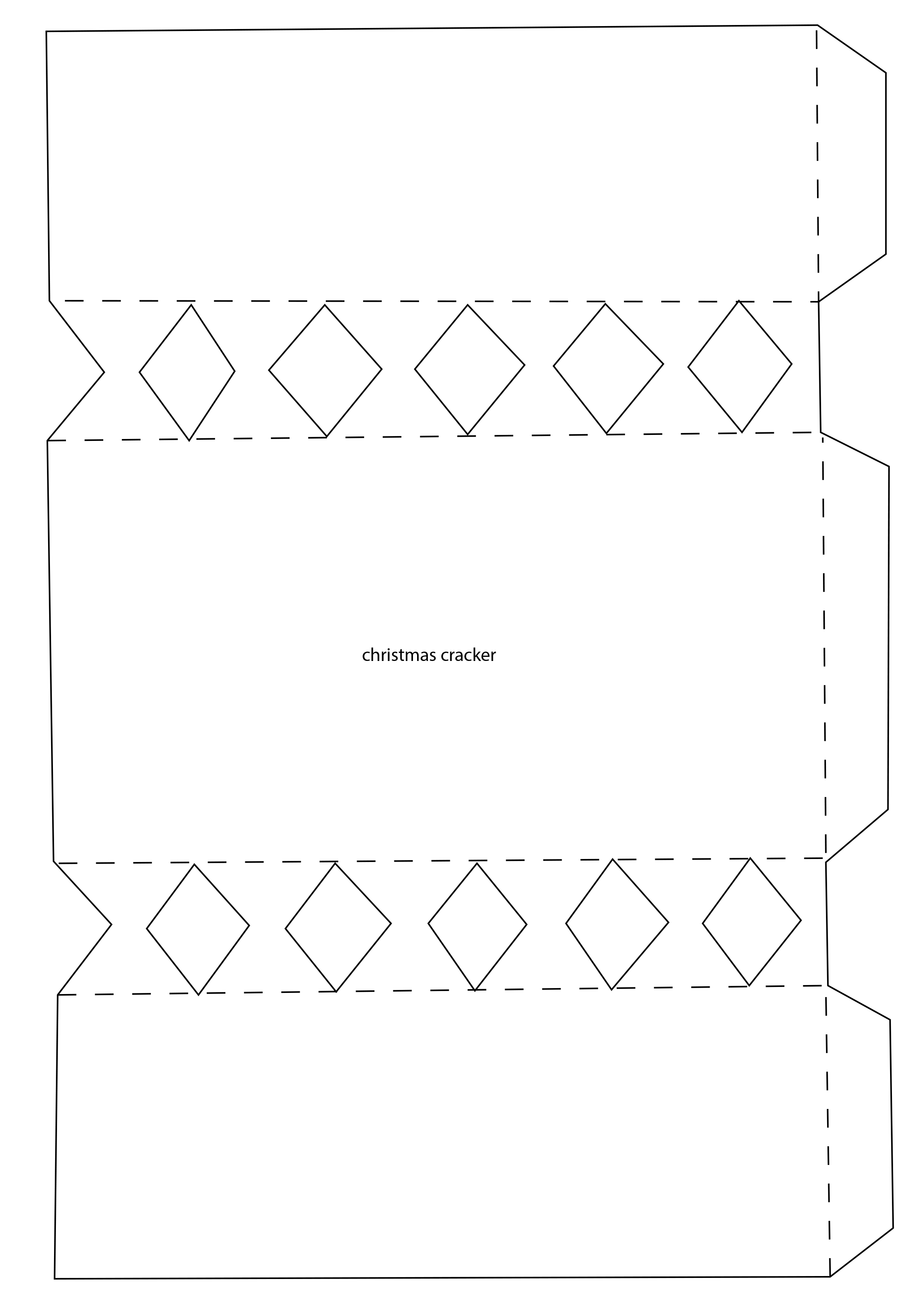 simply cards papercraft s click here to your christmas cracker template