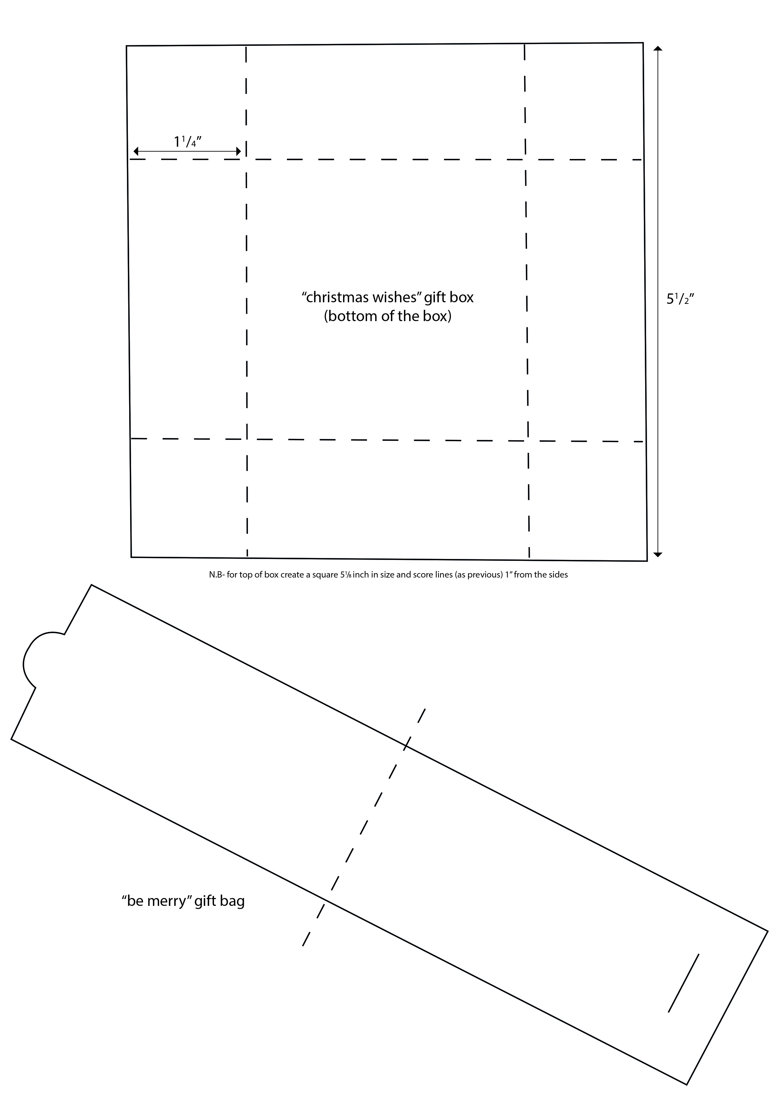 Click Here To Download Your Gift Bag And Gift Box Templates  Gift Box Templates Free Download